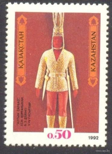 Казахстан воин первая марка