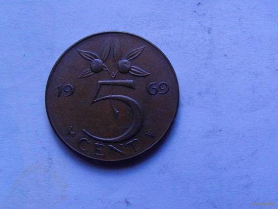 Нидерланды 5 центов 1969г. распродажа