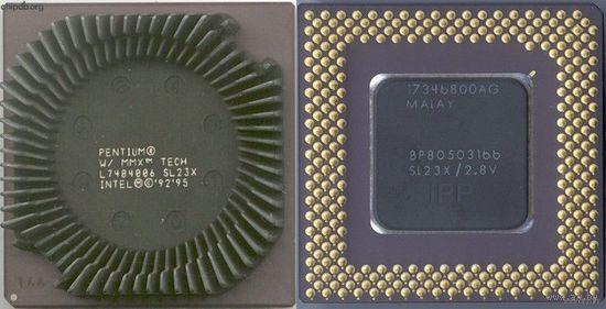 Ретро-процессор под Socket-7: Intel Pentium-166MMX SL23X = Рабочий =