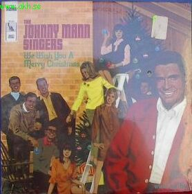 LP The Johnny Mann Singers - We Wish You A Merry Christmas