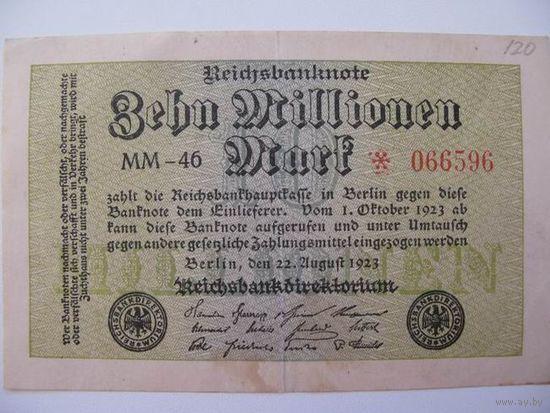 Германия   10 миллион 1923