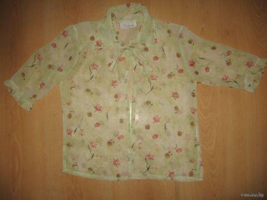 Блузка-накидка на завязочках (Италия) 7-10 лет