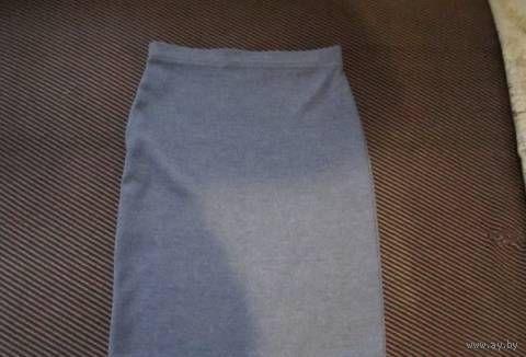 Моделька  Стильная ВЯЗАНАЯ Офисная юбка ниже колена для истинной Леди р.44-46