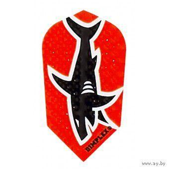 Дартс. Набор оперения для дротиков Dimplex slim(акула).