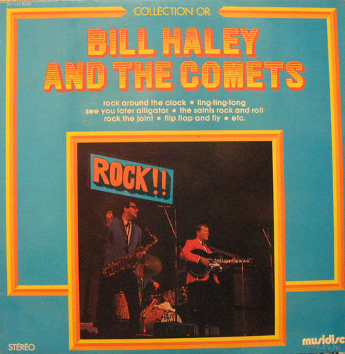 LP Bill Haley And The Comets - Rock! Rock! Rock! (1971)