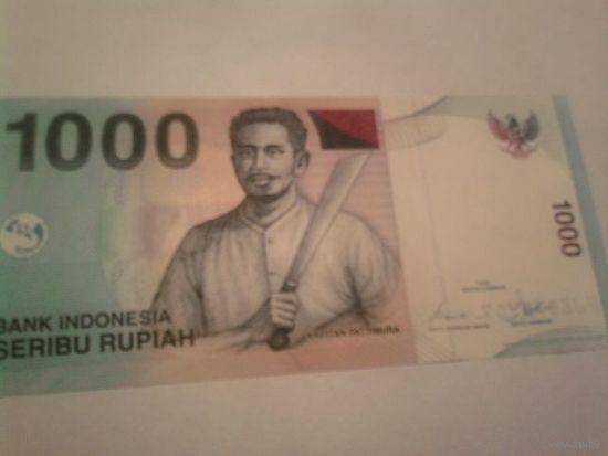 Индонезия 1000 рупий 2000 г пресс UNC   распродажа