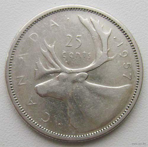 Канада 25 центов 1978г.  распродажа