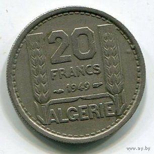 АЛЖИР - 20 ФРАНКОВ 1949
