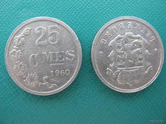 Люксембург  25   с мес   1960