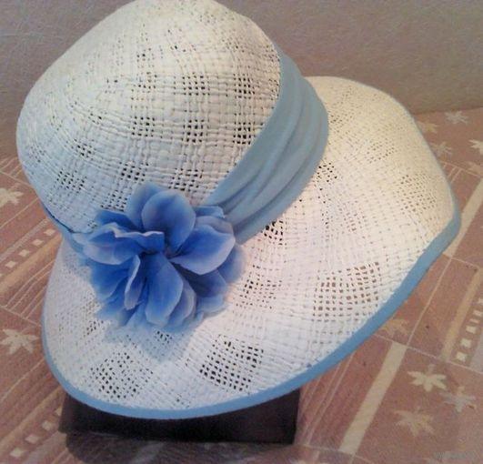 НОВАЯ женская летняя шляпка 56 размер