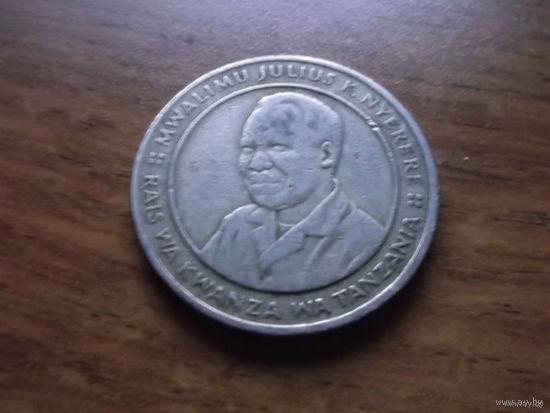 Танзания 10 shilingi kumi 1987