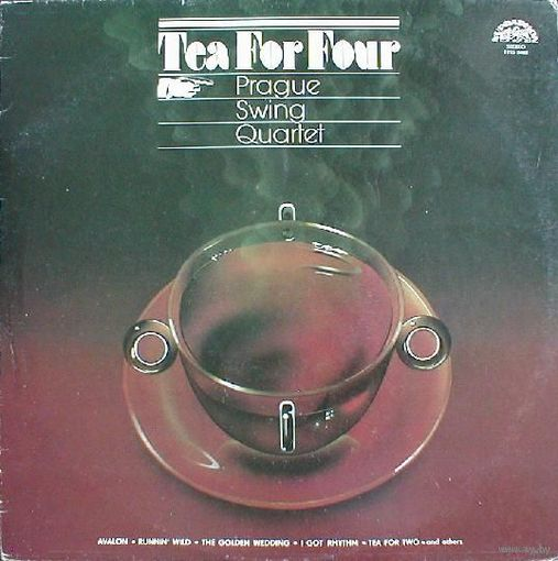 Prague Swing Quartet - Tea For Four - LP - 1980