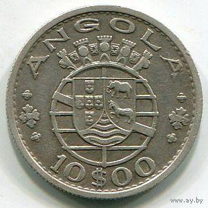 АНГОЛА - 10 ЭСКУДО 1952