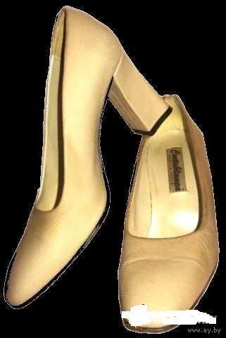 Туфли кремовые Испания р-р 37