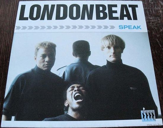 "Londonbeat  ""Speak"" LP, 1988"