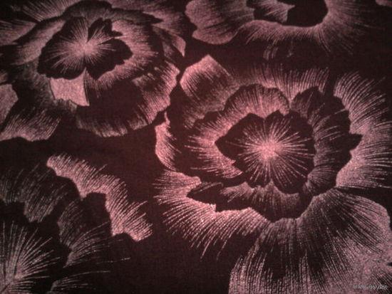 Ткань хлопчатобумажная с блестящим принтом, 95см*380см