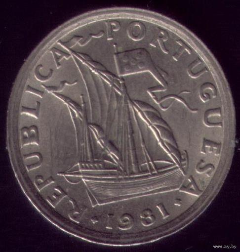 2.5 Эскудо 1981 год Португалия