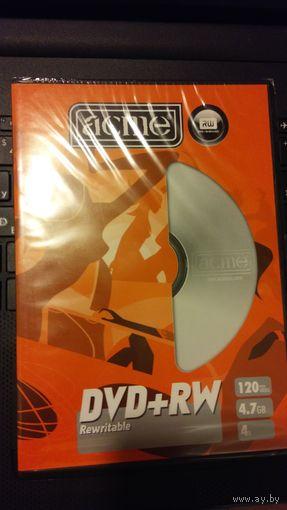 ДИСКИ DVD+RW, ЧИСТЫЕ В УПАКОВКЕ