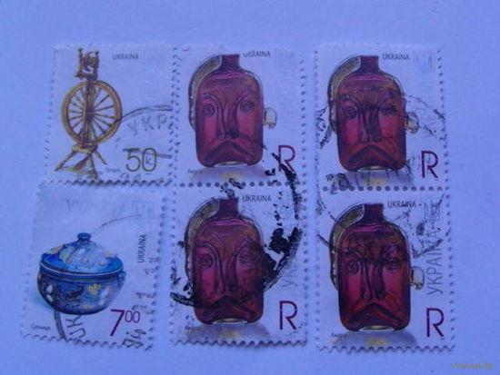 Украина марки Кварта, Супница, Прялка распродажа